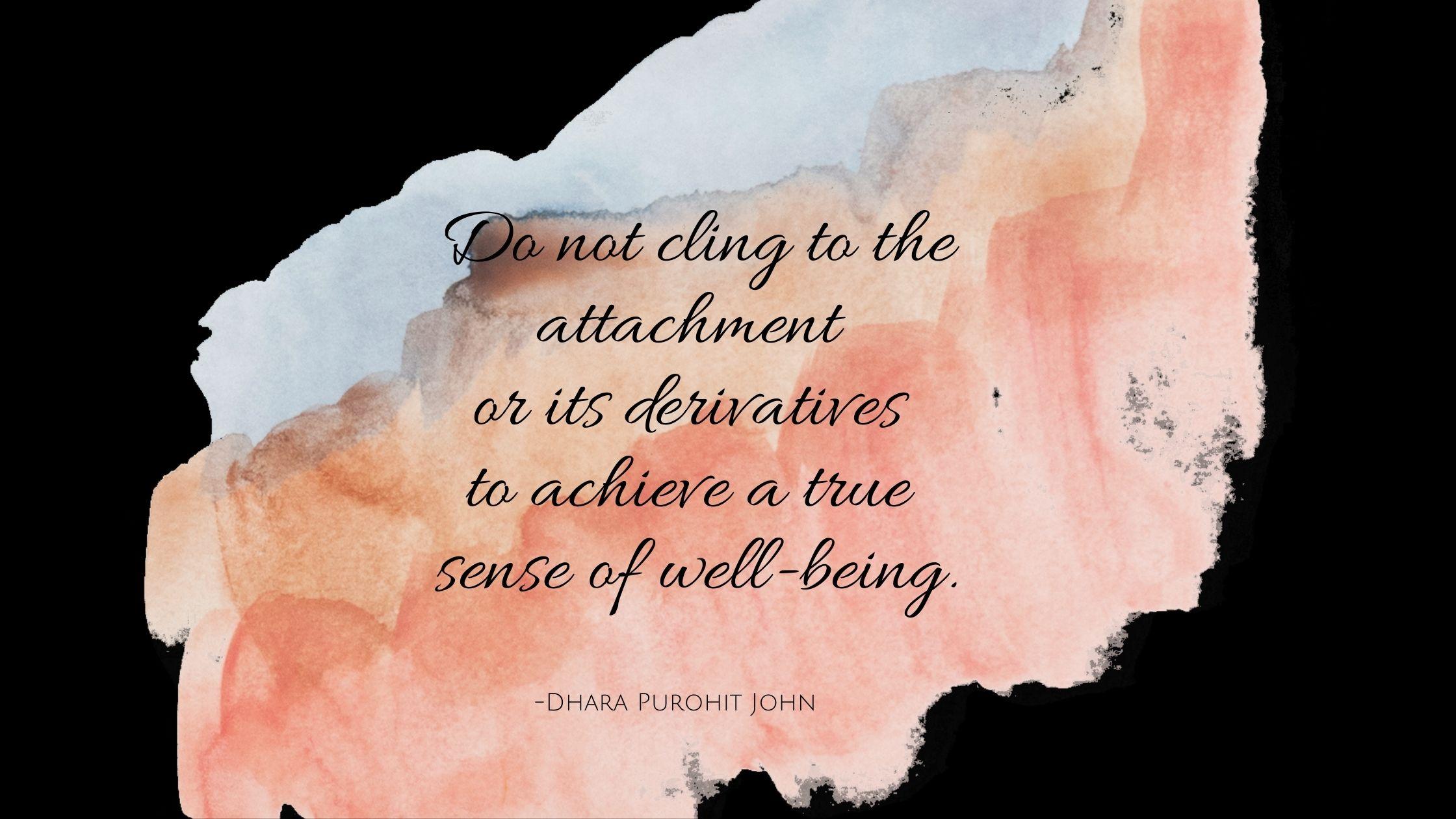 Nurture a true sense of well-being.