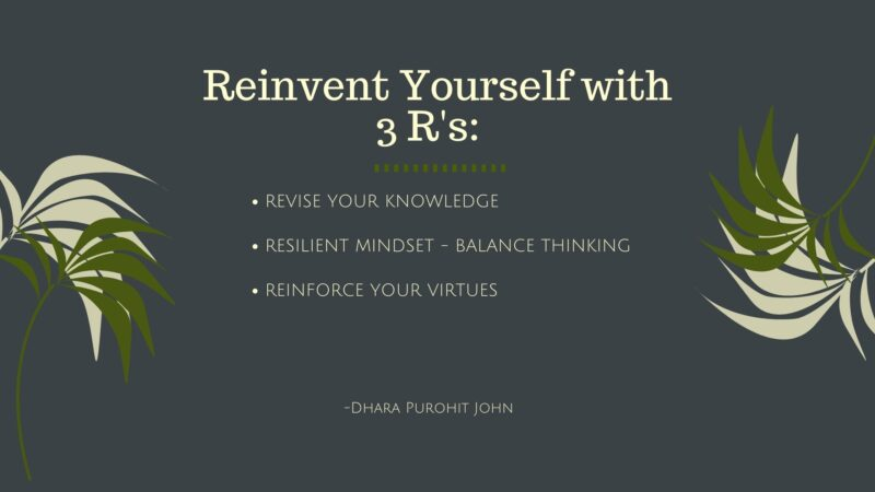 Reinvent Yourself  Now––Take charge of your well-being